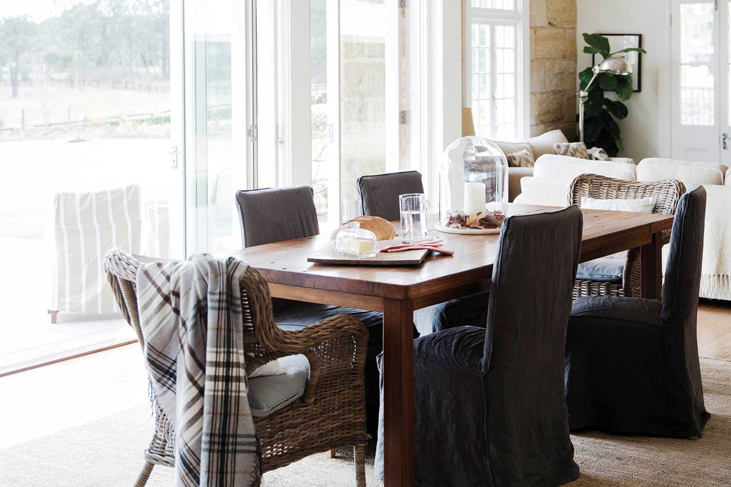 Timber Dining Tables Adelaide 10 Ways To Style Up Your Timber Dining Table Home Beautiful