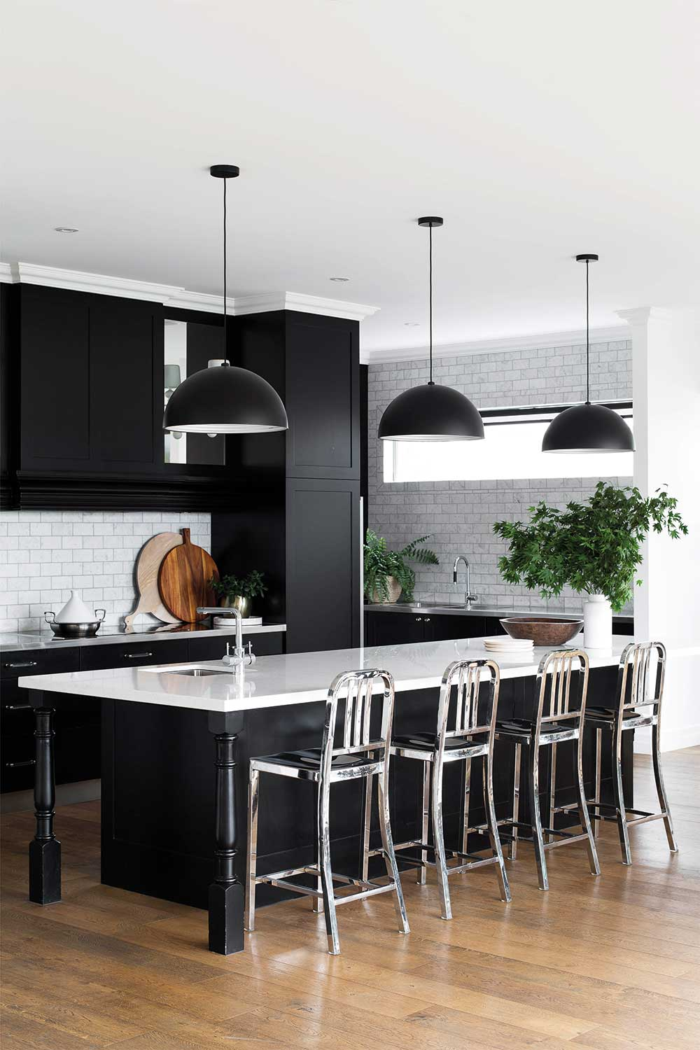 7 Great Ideas For A Black And White Kitchen Home Beautiful Magazine Australia