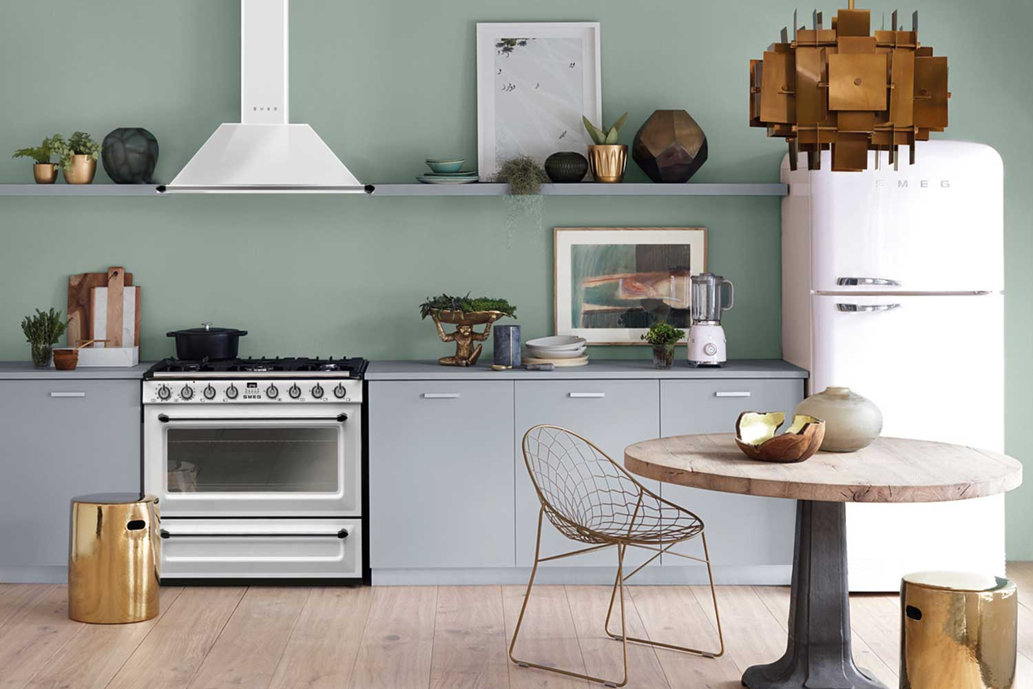 All White Kitchens With White Appliances The All White Kitchen Of Your Dreams Is Here With These