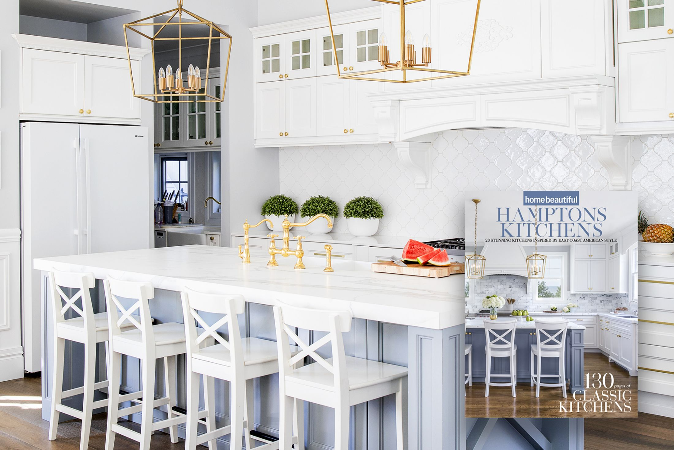 Hampton Style Kitchen Home Beautiful S Hamptons Kitchens Collector S Edition Is Out Now