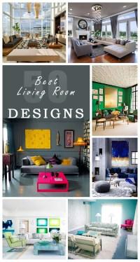 50 Best Living Room Design Ideas for 2018