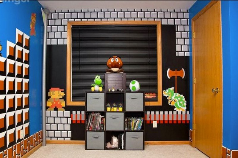 Encouraging 2018 Video Game Room Couch Video Game Room Wall Art Using Blocks To Create Depth Epic Video Game Room Decoration Ideas