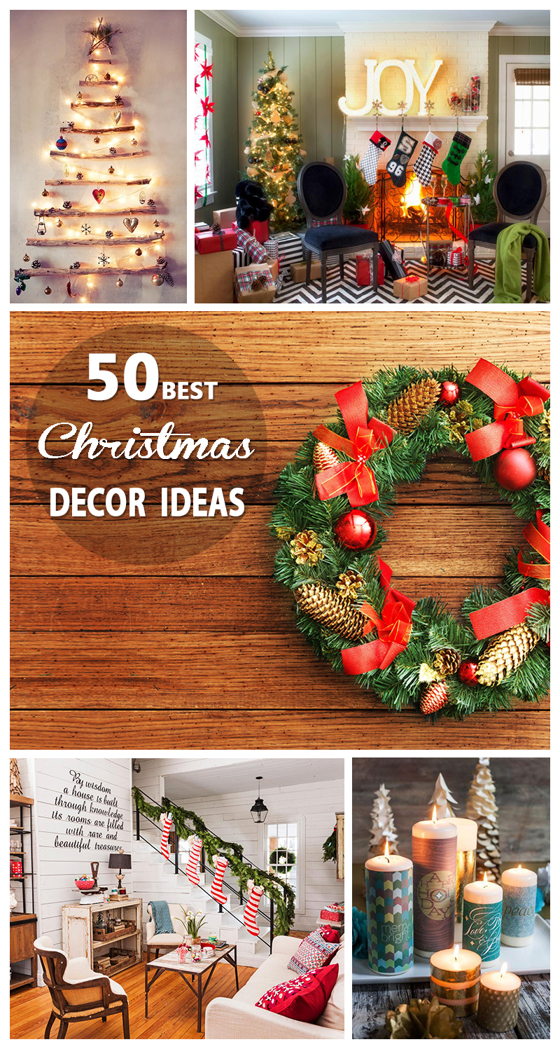 Best Place For Christmas Decorations 50 Best Christmas Decoration Ideas For 2019