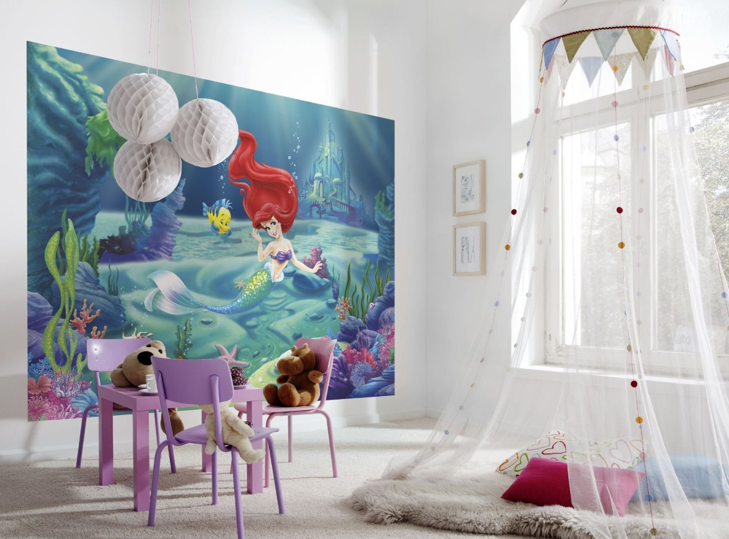 3d Wallpaper For Kid Bedroom 15 Disney Inspired Rooms That Will Make You Want To Redo
