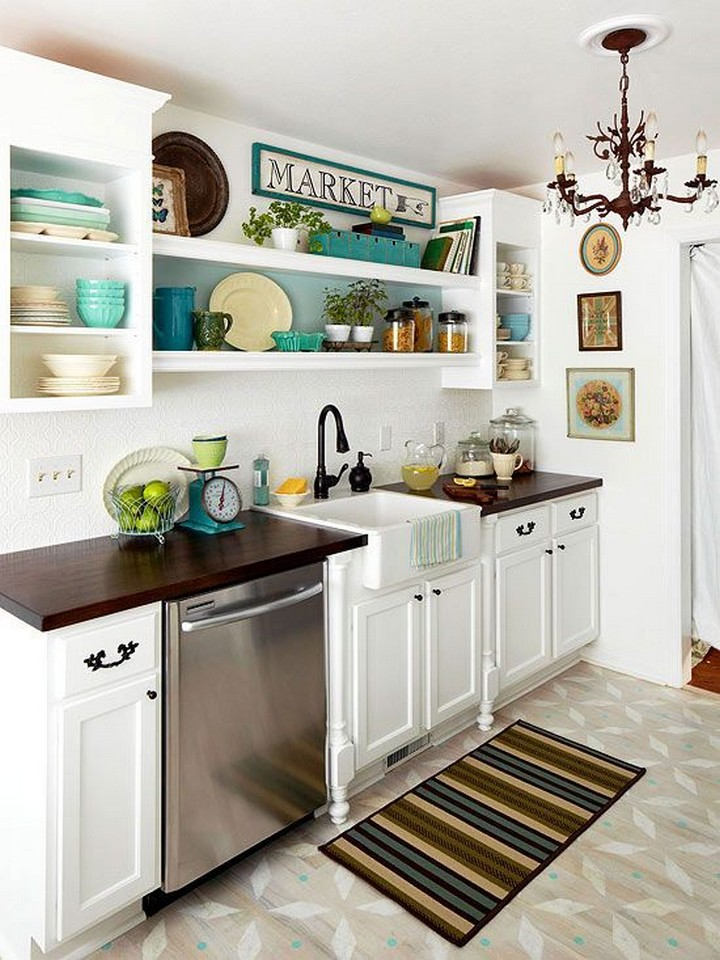 50 Best Small Kitchen Ideas and Designs for 2017 - small kitchen ideas pictures