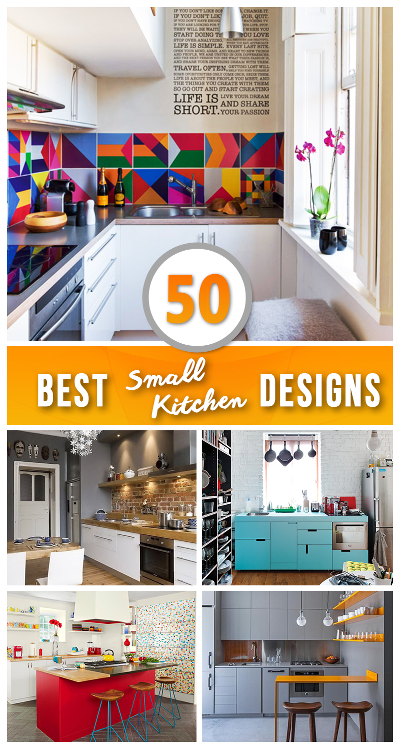 Small Enclosed Kitchen Design 50 Best Small Kitchen Ideas And Designs For 2019