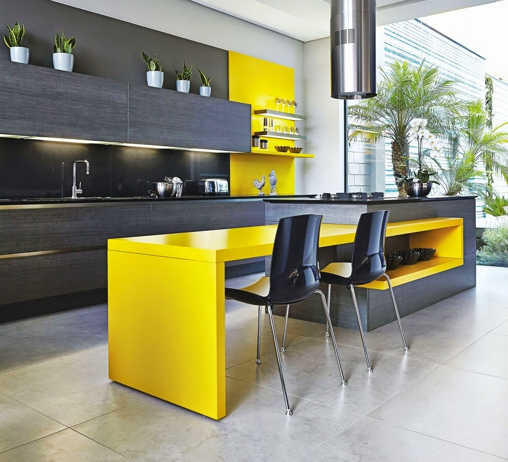 Yellow Kitchen Design Ideas 50 Best Modern Kitchen Design Ideas For 2019