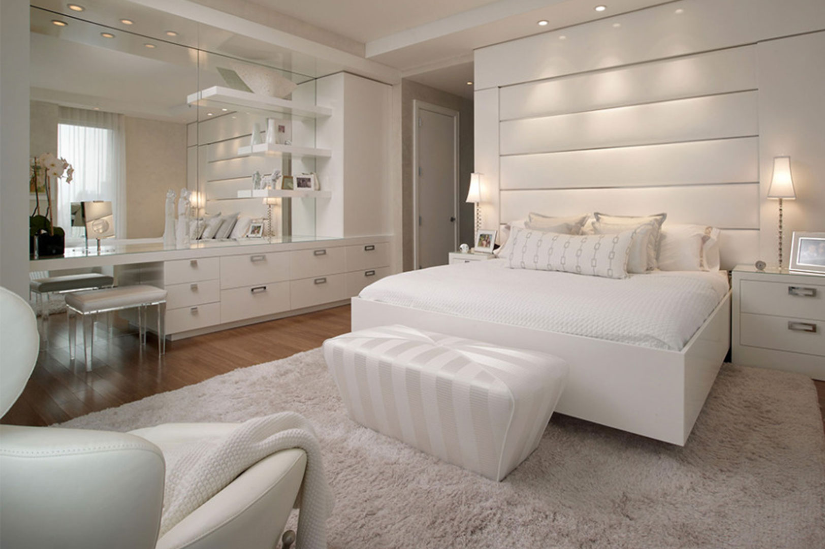 White Decoration Bedroom 50 Best Bedrooms With White Furniture For 2019