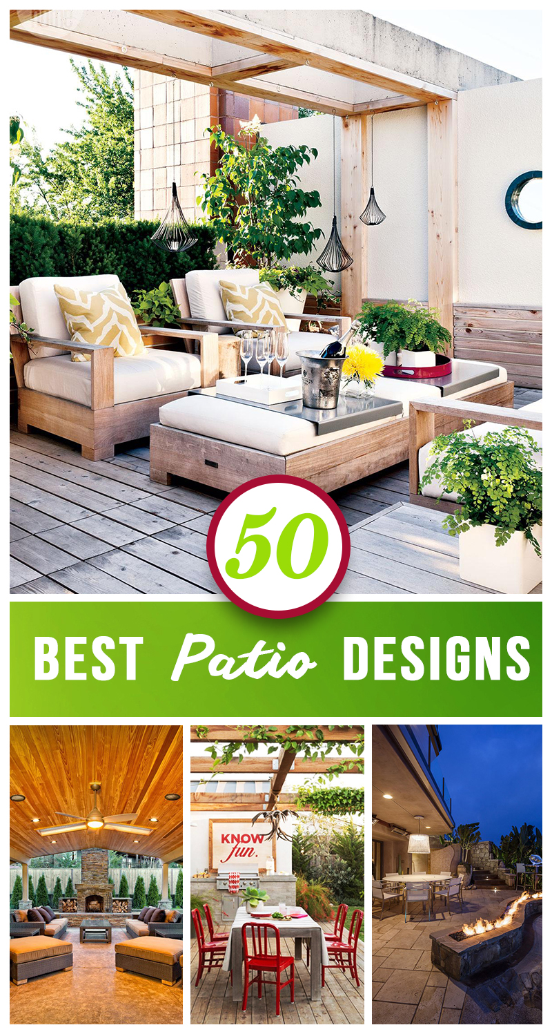 Patio Moderne 50 Best Patio Ideas For Design Inspiration For 2019