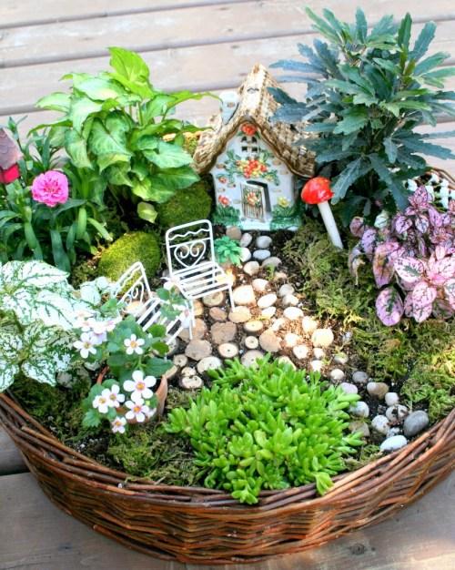 Medium Of Fantasy Garden Designs