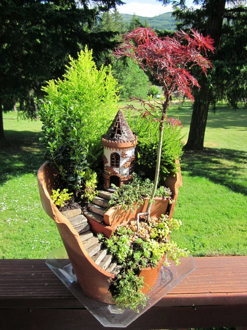 Large Of Homemade Fairy Garden Items