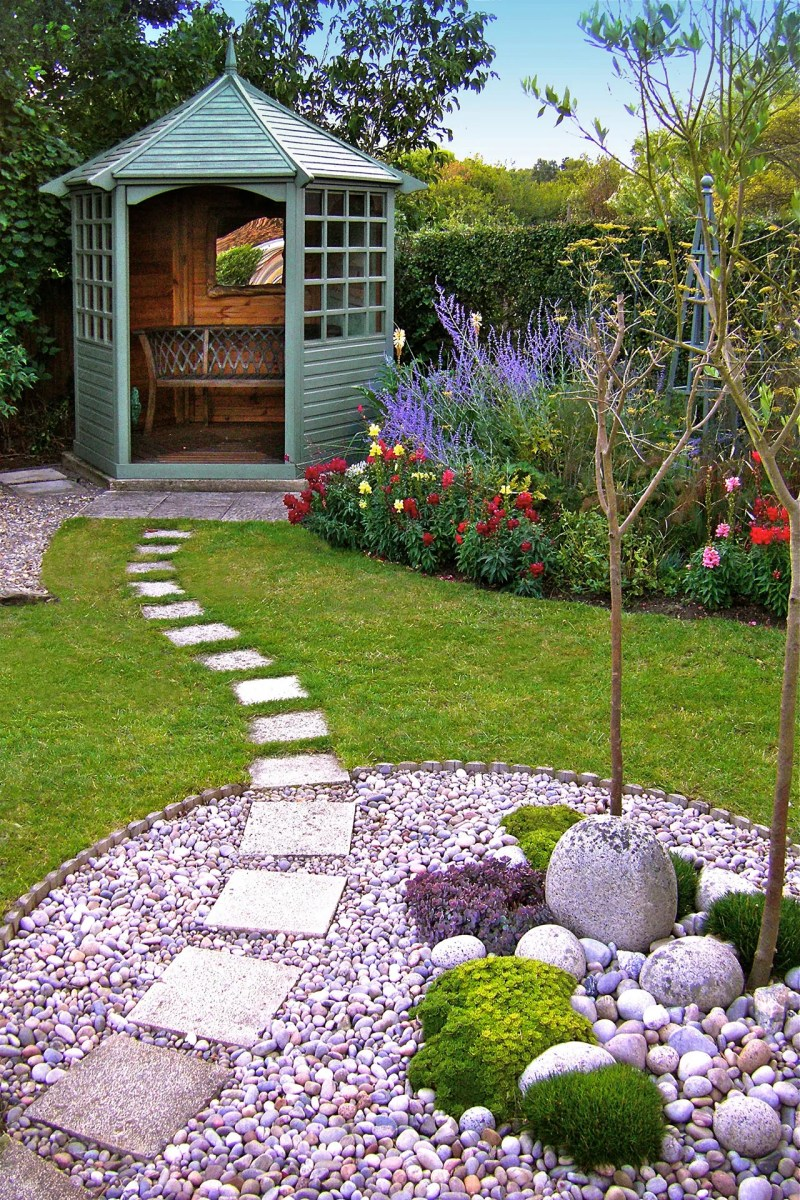Large Of Images Of Backyard Landscaping
