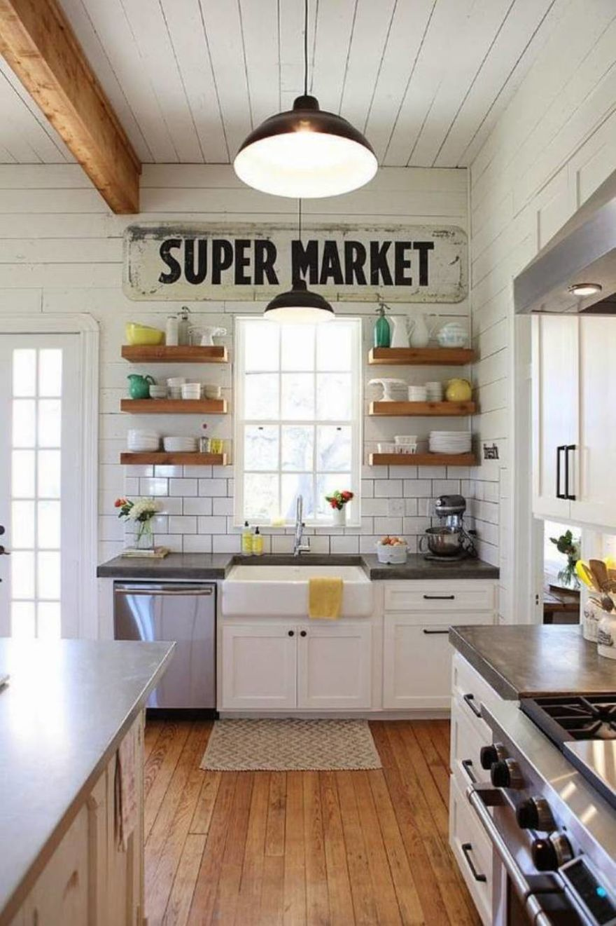 Country Kitchen Shelves 23 Best Rustic Country Kitchen Design Ideas And Decorations For 2019