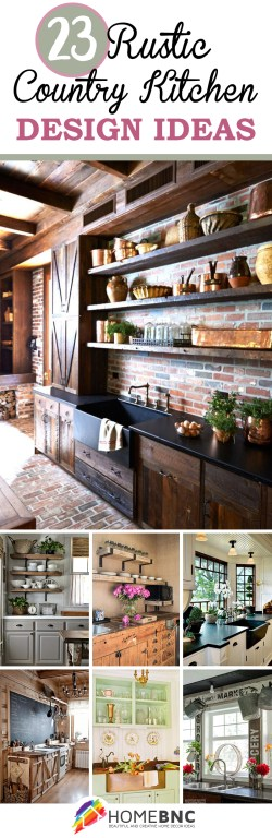 Small Of Rustic Home Kitchens