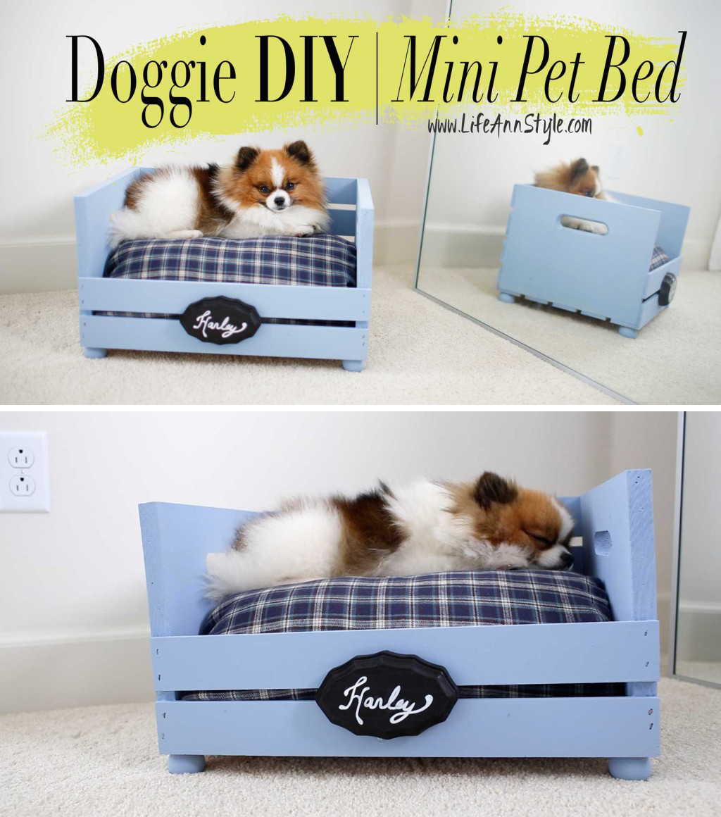 Diy Hundebett 26 Best Diy Pet Bed Ideas And Designs For 2019