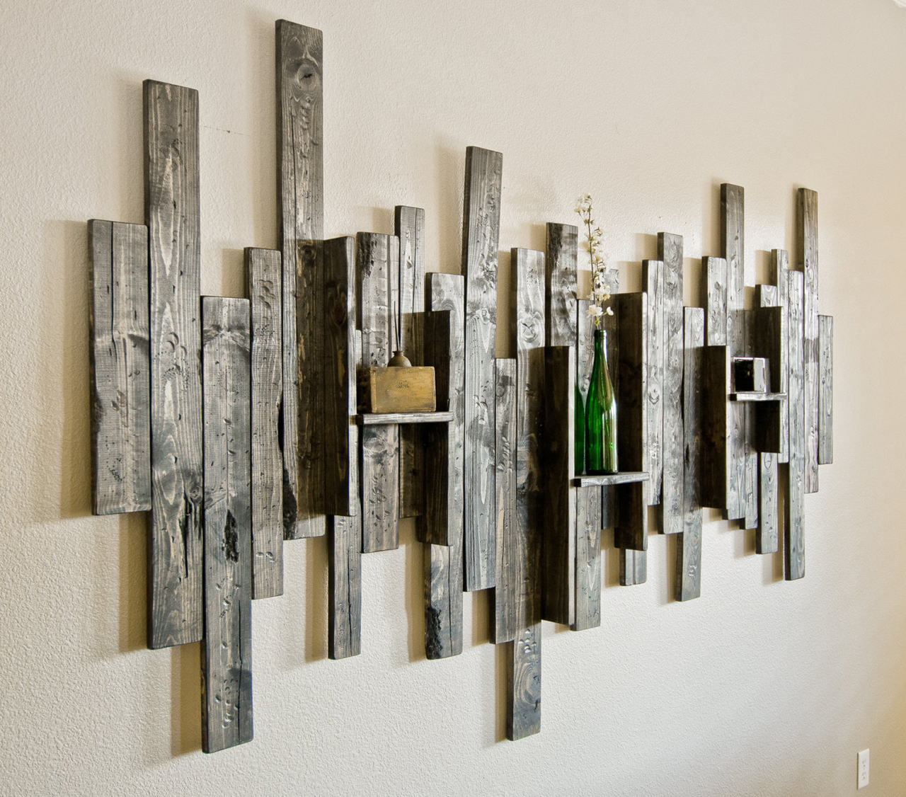 Wood Decorative Wall Art 27 Best Rustic Wall Decor Ideas And Designs For 2019