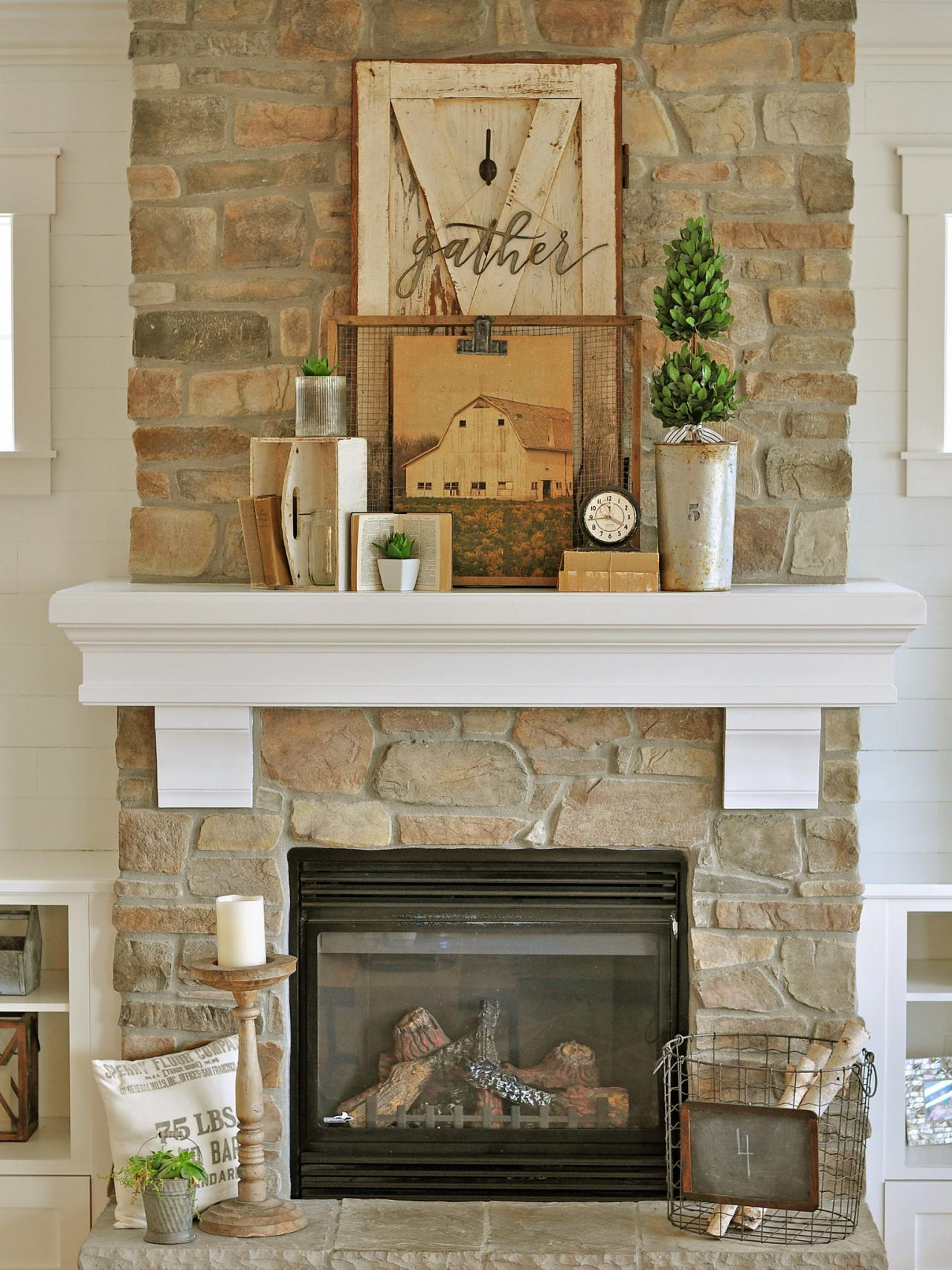 Mantelpiece Ideas 24 Best Fall Mantel Decorating Ideas And Designs For 2019