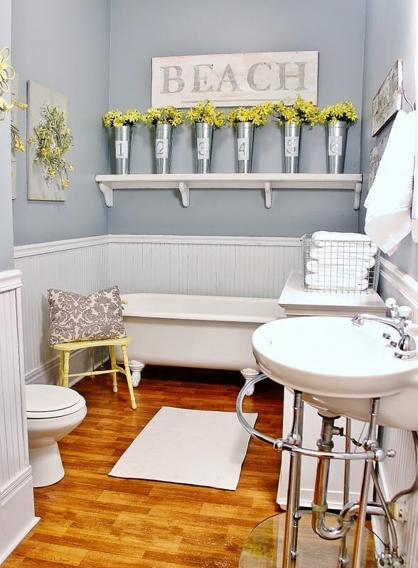 32 Best Small Bathroom Design Ideas and Decorations for 2017 - design ideas for small bathrooms