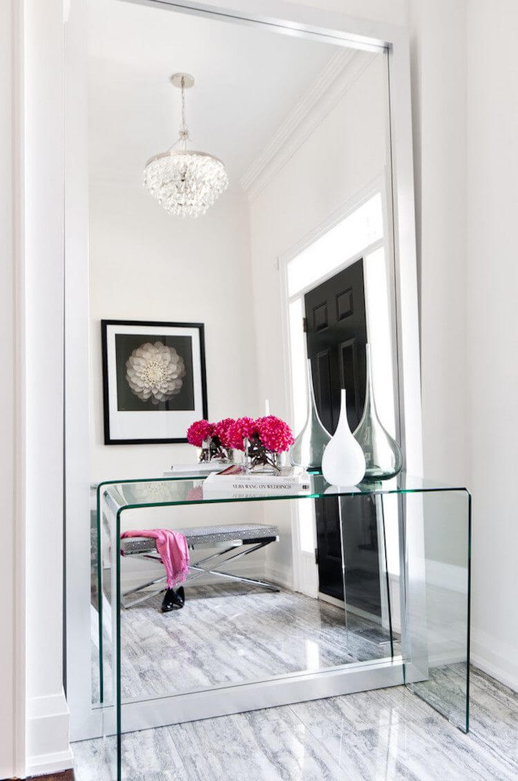 Glass Sofa Table Decor 37 Best Entry Table Ideas Decorations And Designs For 2019