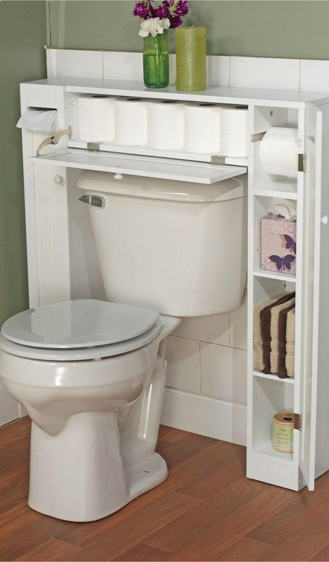 44 Best Small Bathroom Storage Ideas and Tips for 2017 - storage ideas for small bathrooms