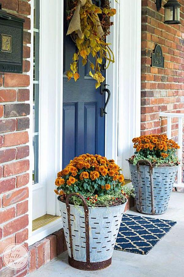 29 Best Front Door Flower Pots (Ideas and Designs) for 2018