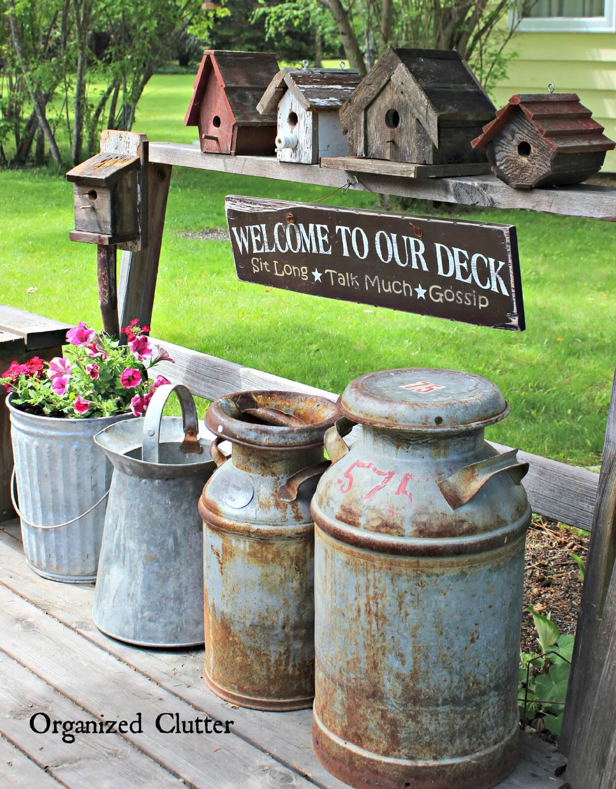 Decorative Milk Urn 34 Best Vintage Garden Decor Ideas And Designs For 2019