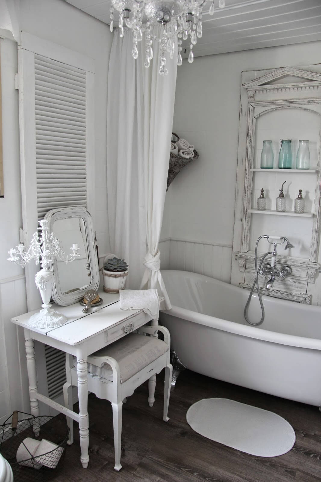 Badezimmer Deko Shabby Chic 15 Lovely Shabby Chic Bathroom Decor Ideas Style Motivation