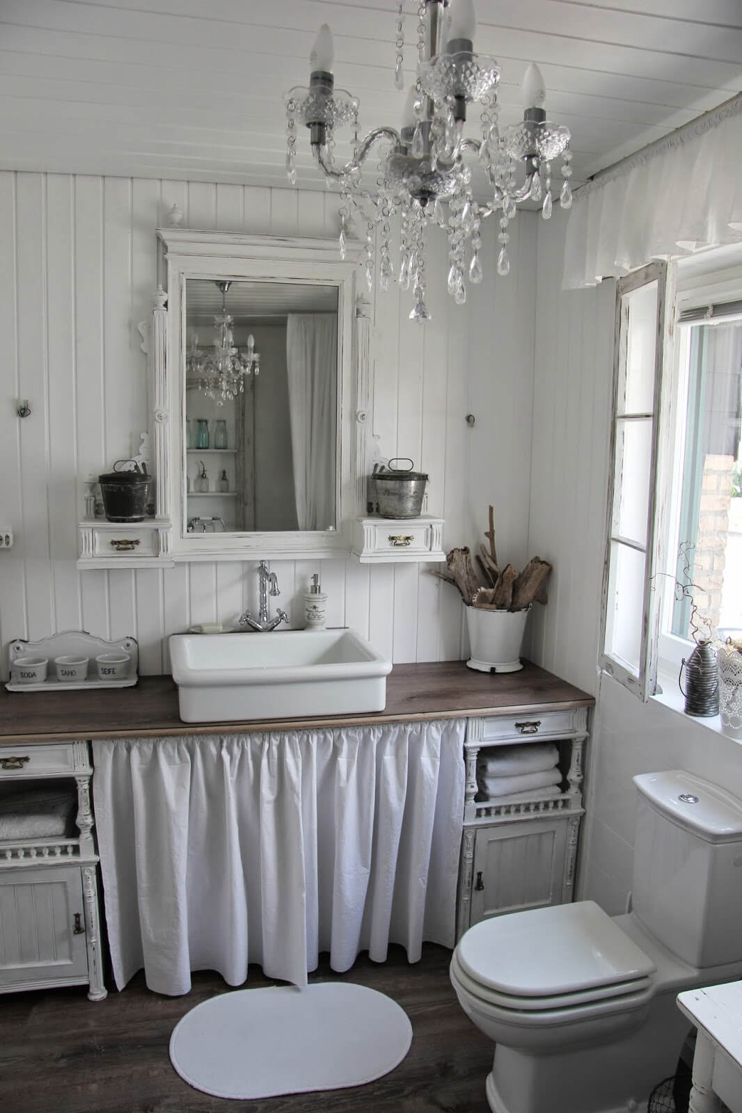 Waschtisch Shabby Chic 15 Lovely Shabby Chic Bathroom Decor Ideas Style Motivation