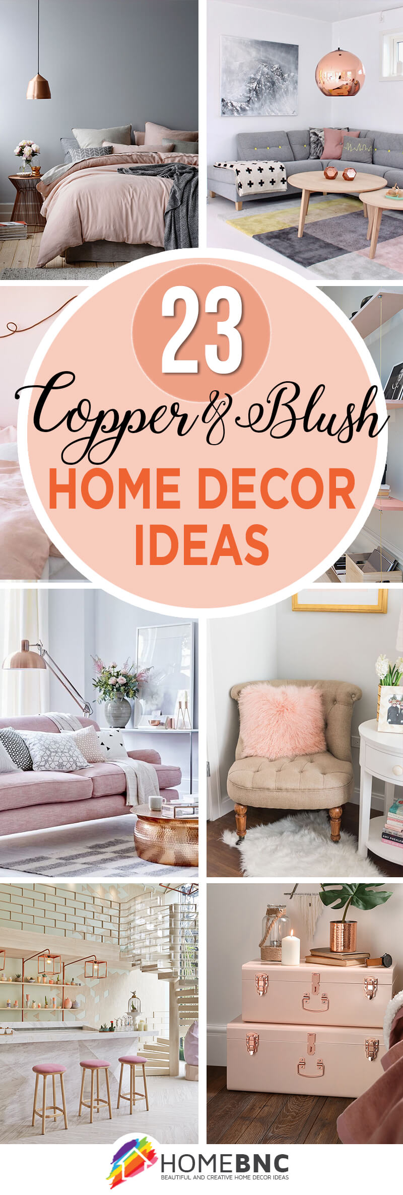 Decoration Chambre Uk 23 Best Copper And Blush Home Decor Ideas And Designs For 2019