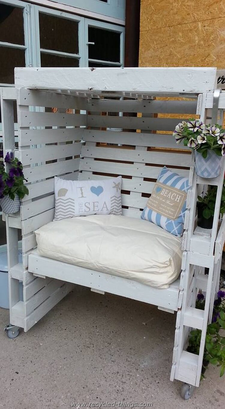 Gartenbank Selber Bauen Bauplan 27 Best Outdoor Pallet Furniture Ideas And Designs For 2019