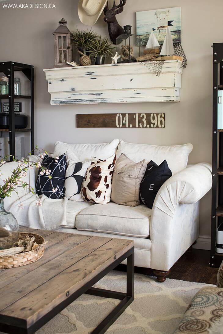 Styles For Living Room 35 Best Farmhouse Living Room Decor Ideas And Designs For 2019