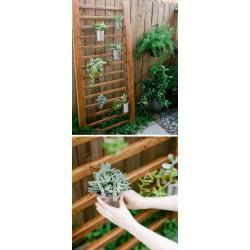 Small Crop Of Outdoor Hanging Herb Garden