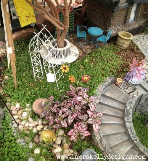 Medium Of Homemade Fairy Garden Items