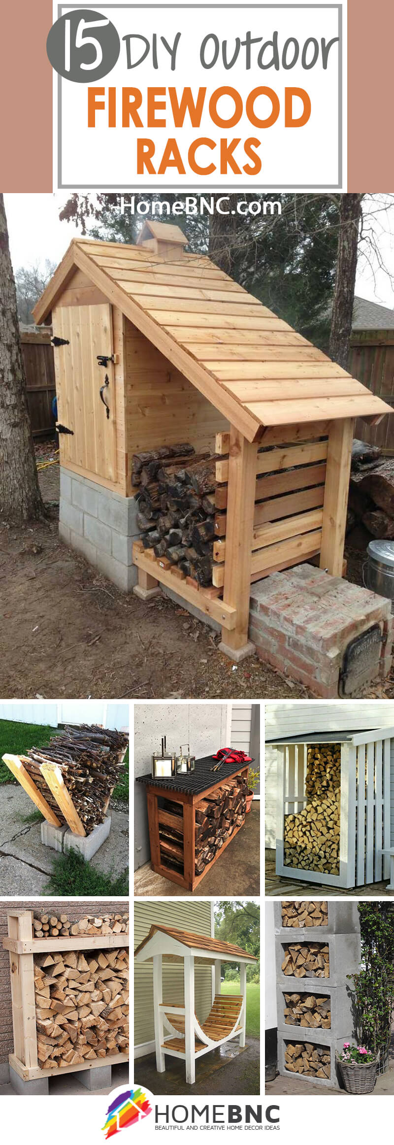 Outdoor Firewood Rack 15 Best Diy Outdoor Firewood Rack Ideas And Desigs For 2019