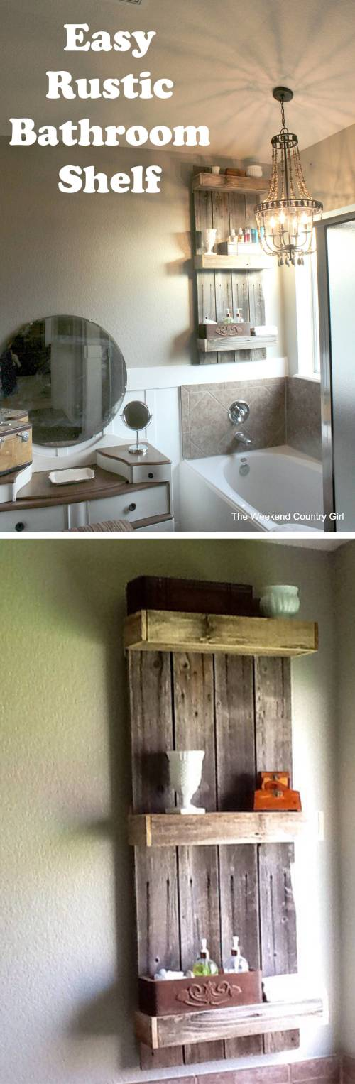 Medium Of Bathroom Shelf Decorations