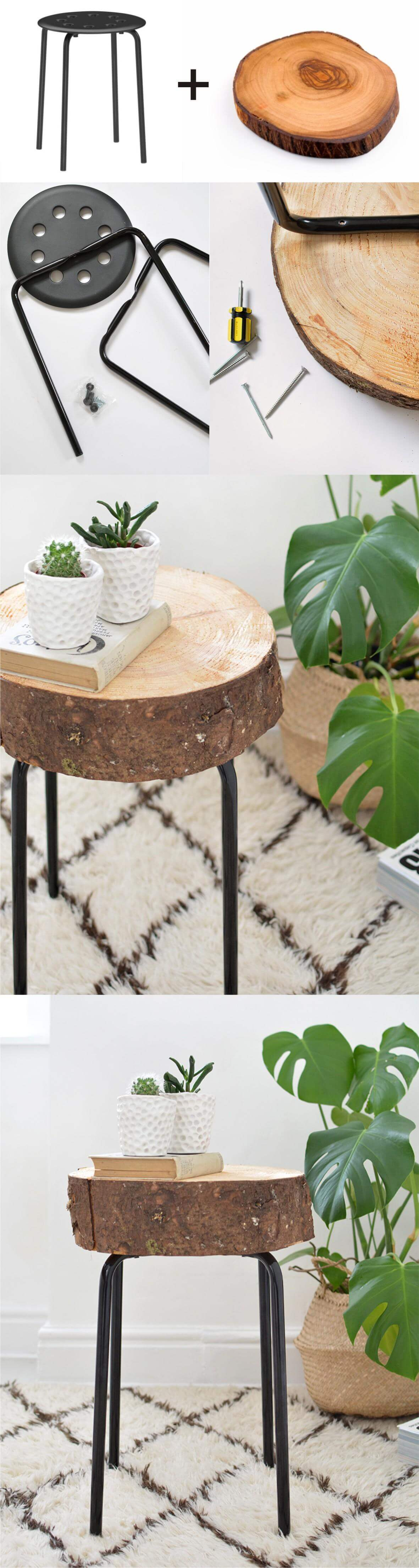 Wooden Side Table Designs 25 Best Diy Side Table Ideas And Designs For 2019