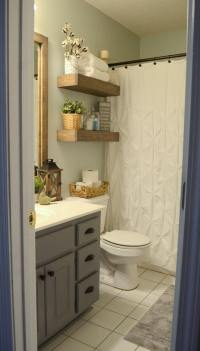 25+ Best DIY Bathroom Shelf Ideas and Designs for 2018