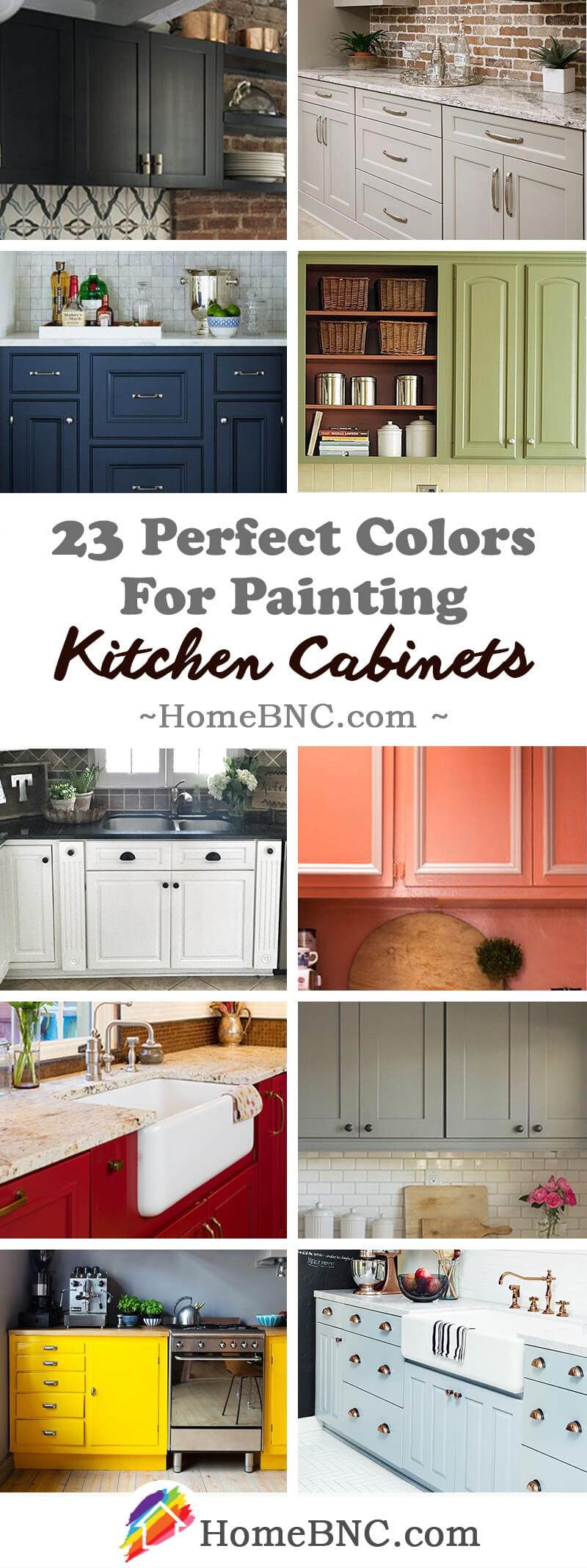 Kitchen Color Design Pictures 23 Best Kitchen Cabinets Painting Color Ideas And Designs For 2019