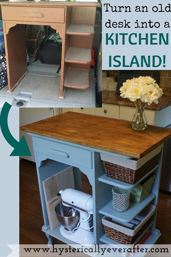 23 Best DIY Kitchen Island Ideas And Designs For 2017   Kitchen Island Ideas  Diy