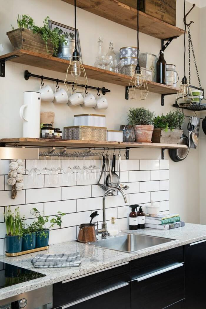 Ikea Küche Behälter 23 Best Cottage Kitchen Decorating Ideas And Designs For 2019