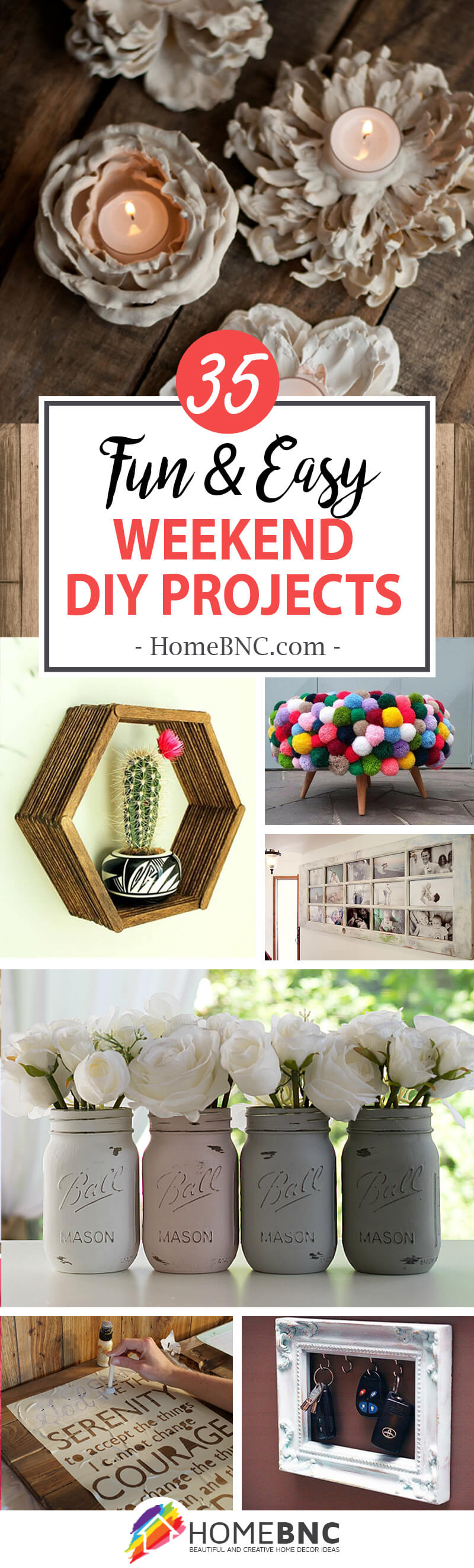 35 Best Weekend Diy Home Decor Projects Ideas And Designs For 2021