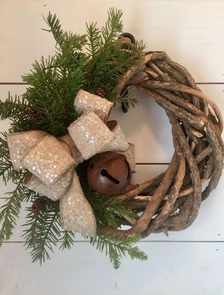 Rustic Christmas Decor rustic christmas decorating ideas - dachschragebadezimmer