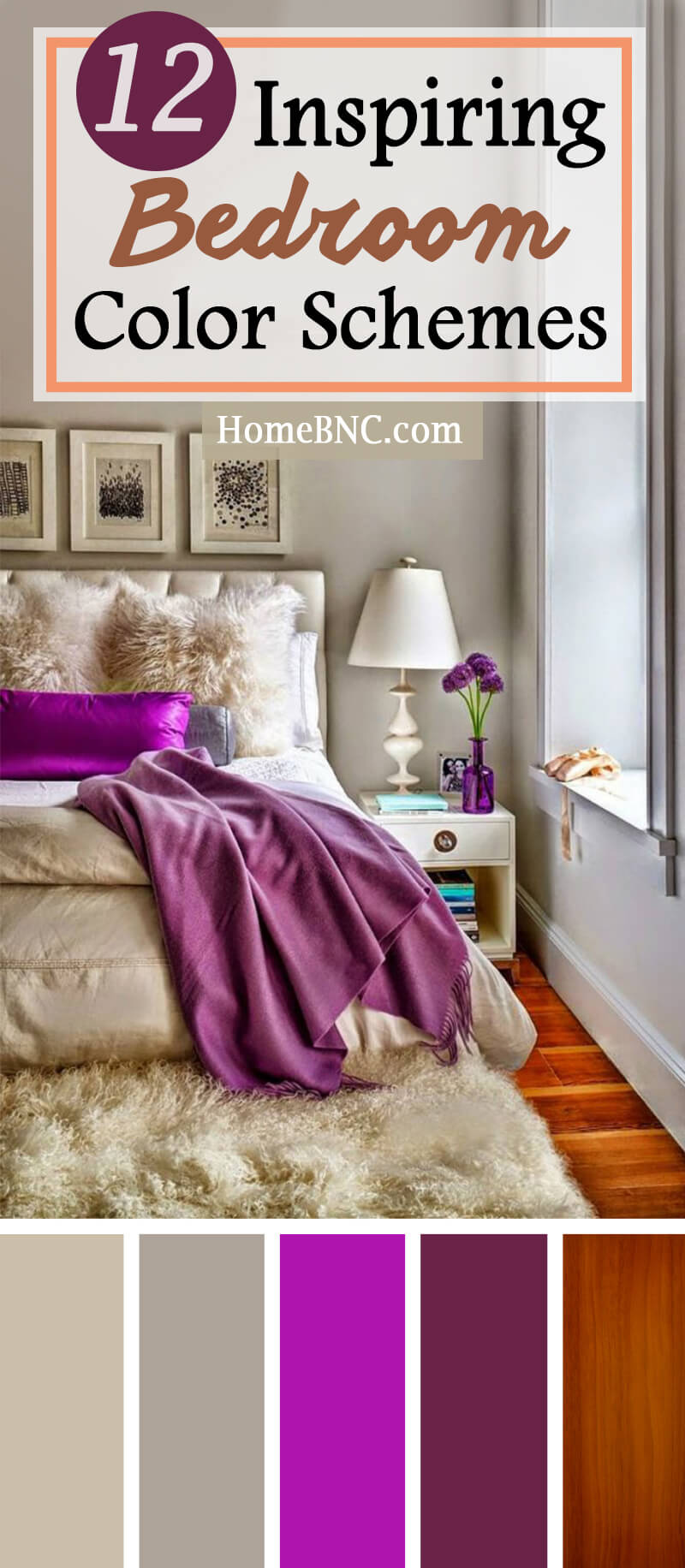 Schlafzimmer Modern Pink 12 Best Bedroom Color Scheme Ideas And Designs For 2019