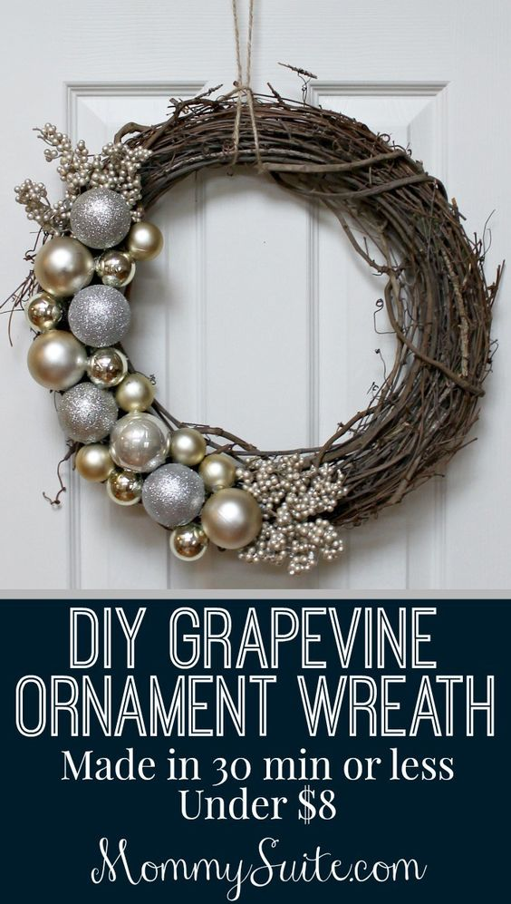 36 Best Christmas Wreath Ideas and Designs for 2017 - christmas wreath decorations