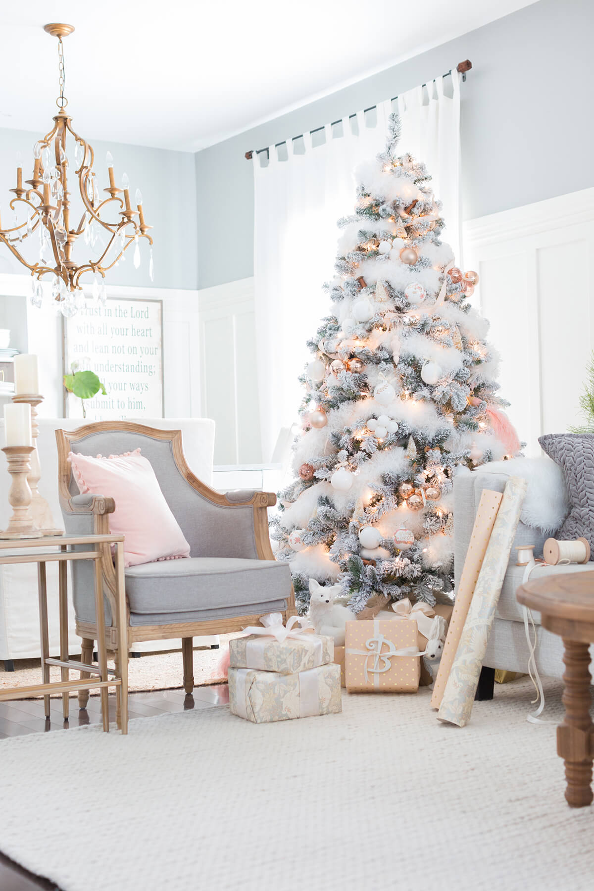 Decorations De Noel 2018 32 Best Christmas Living Room Decor Ideas And Designs For 2019