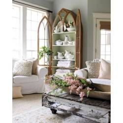 Soulful Gothic Revival China Cabinet Rustic Home Decor Ideas Designs 2018 Rustic Interior Home Decor Rustic Home Decor Interior Design