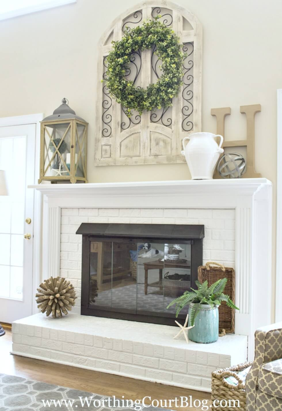 Decorations For Fireplaces 28 Best Farmhouse Mantel Decor Ideas And Designs For 2019