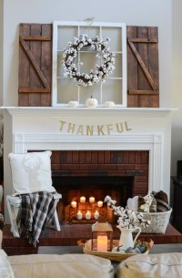 Good looking Mantel Decoration Ideas - Home Design #1052