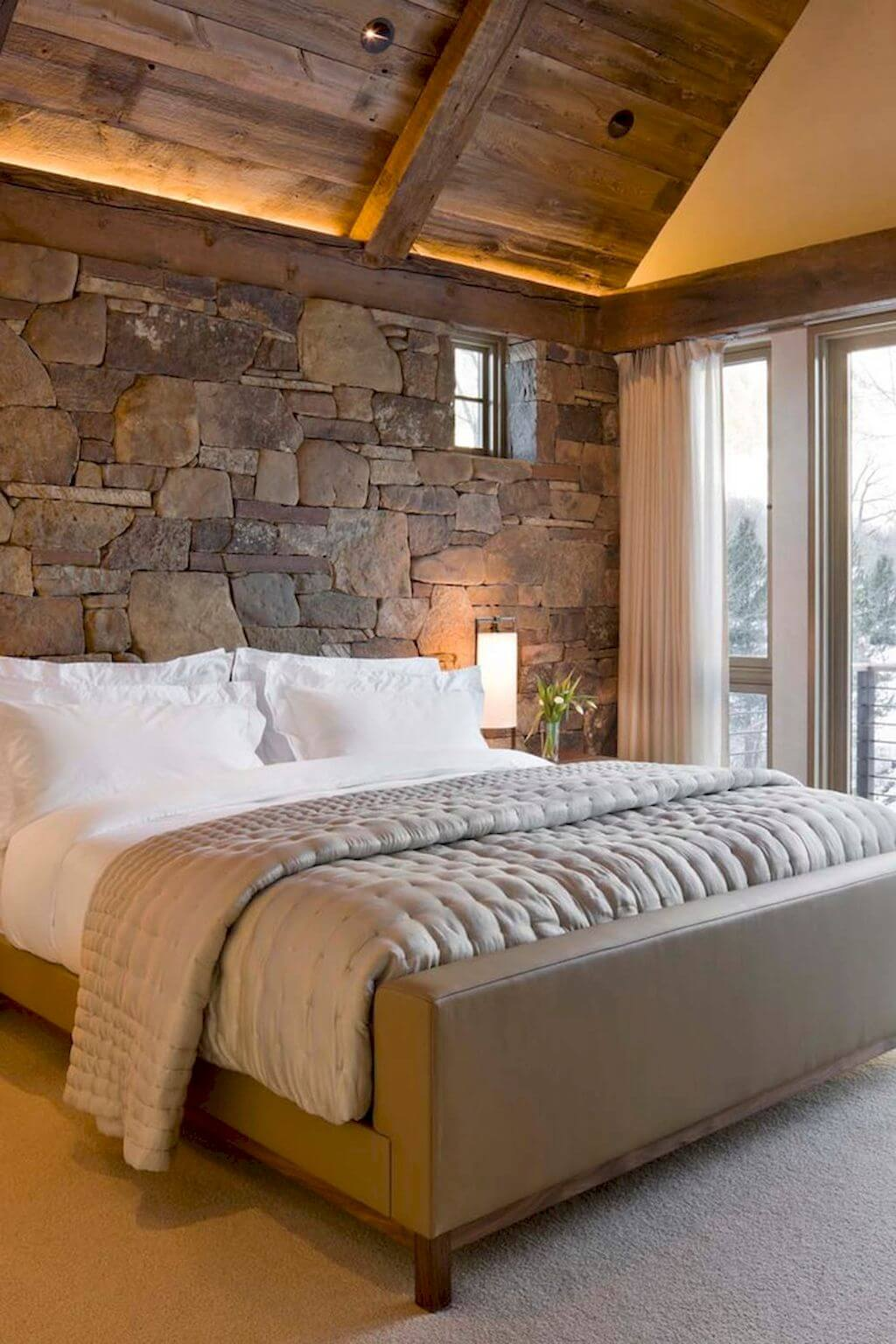 Rustic Walls Interior 33 Best Interior Stone Wall Ideas And Designs For 2019