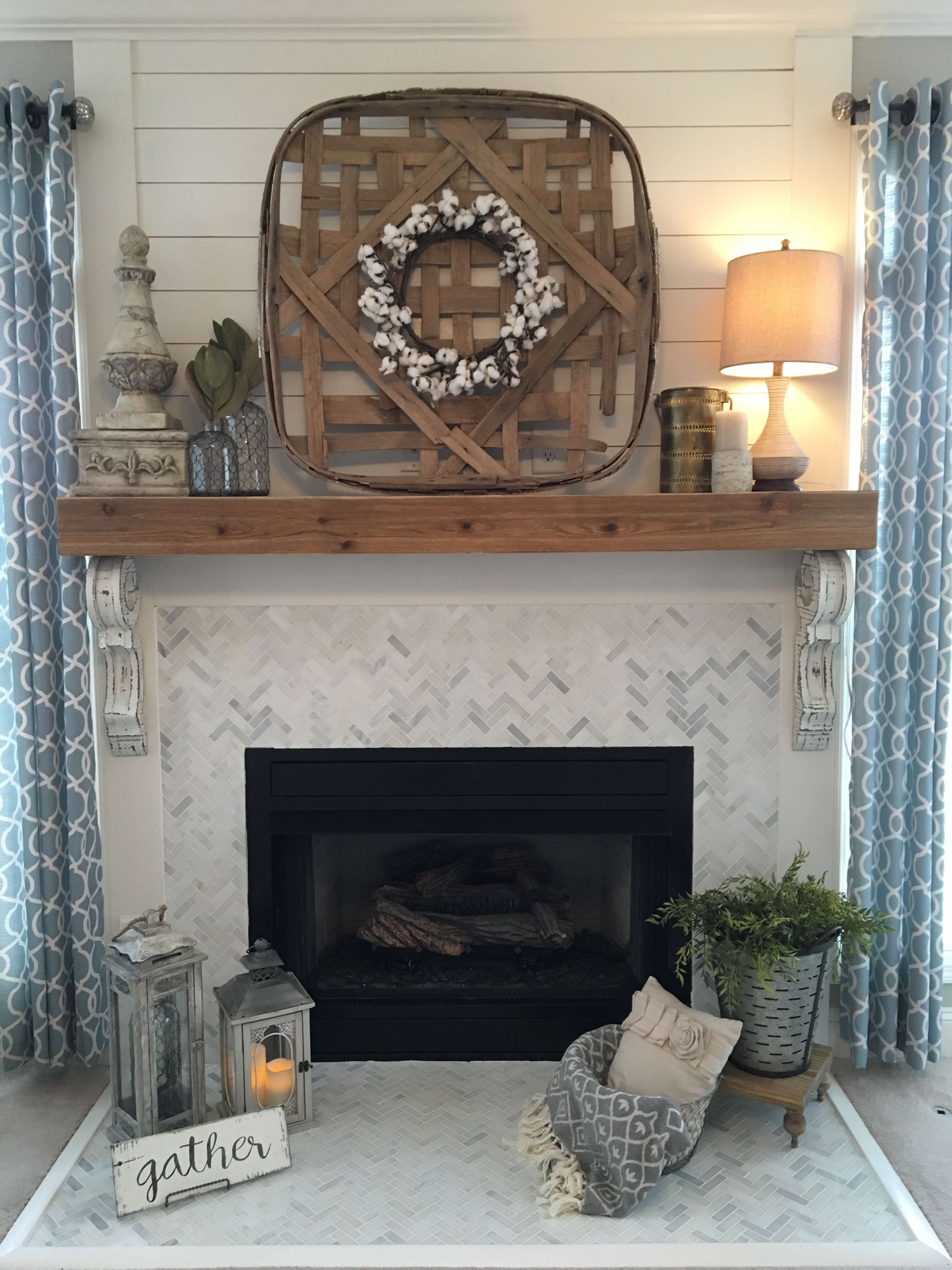 28 Best Farmhouse Mantel Decor Ideas And Designs For 2021